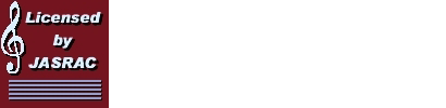 Licensed by JASRAC JASRAC許諾 第9026451001Y45038号 第9026451002Y45037号